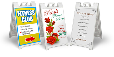 Sandwich Boards Amp Footpath Signs Sign Creations Your