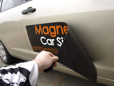 Make Your Own Magnetic Car Decal